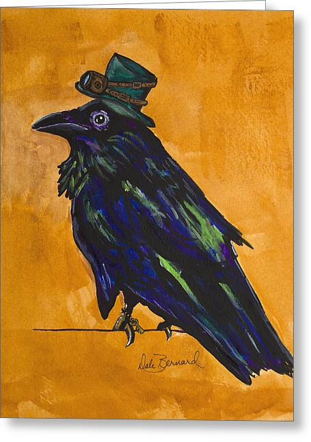 Uncommon Raven Love 4 Greeting Card