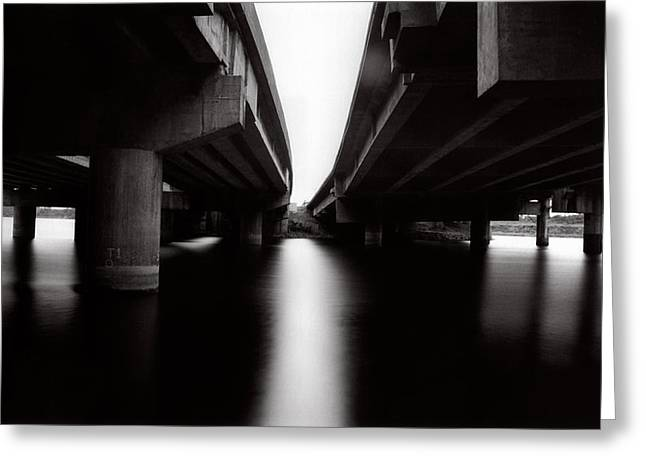 Under The Bridges Greeting Card