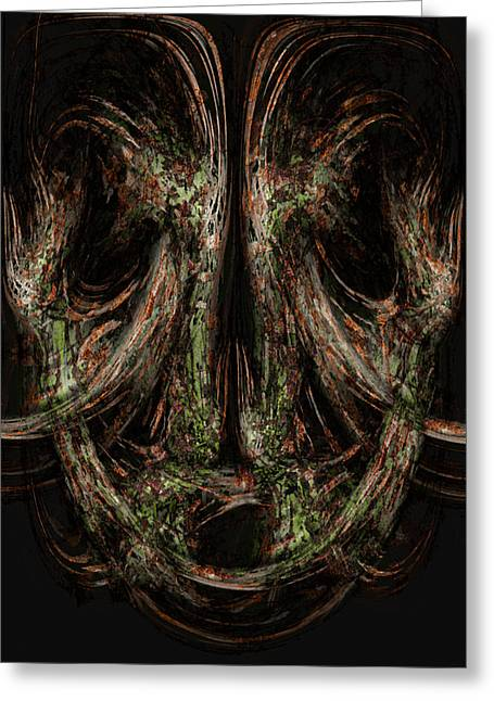 Unforgiveness Greeting Card by Christopher Gaston