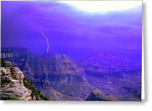 United States, Arizona, Grand Canyon Greeting Card by Jaynes Gallery