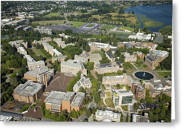 University Of Washington Campus, Seattle Greeting Card
