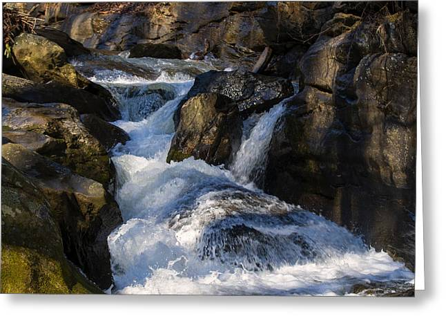 unnamed NC waterfall Greeting Card