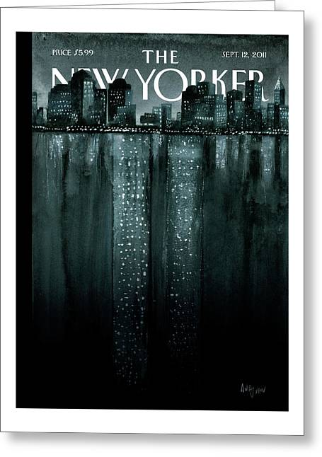 New Yorker September 12th, 2011 Greeting Card