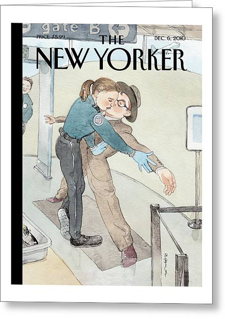 New Yorker December 6th, 2010 Greeting Card