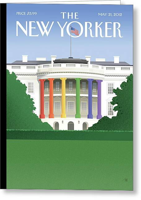 New Yorker May 21st, 2012 Greeting Card by Bob Staake