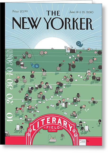 New Yorker June 14th, 2010 Greeting Card