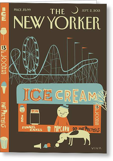 New Yorker September 2nd, 2013 Greeting Card