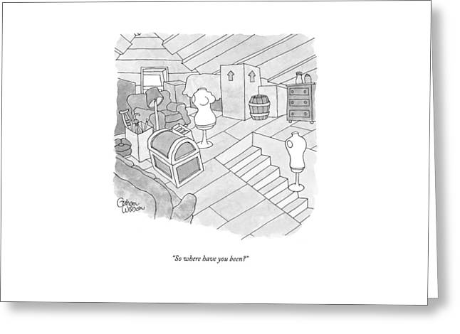 New Yorker September 14th, 2009 Greeting Card