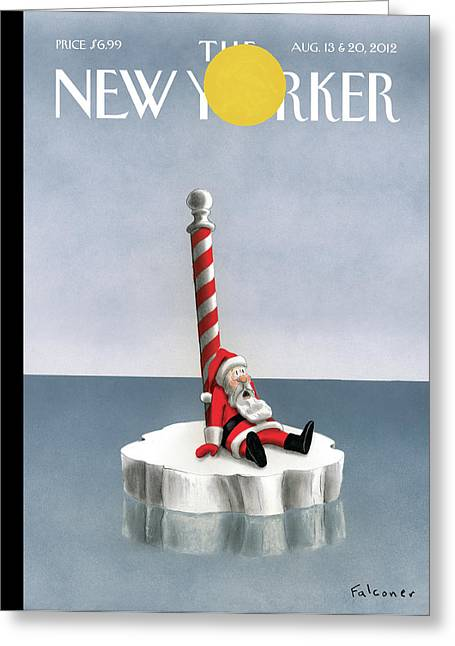 New Yorker August 13th, 2012 Greeting Card