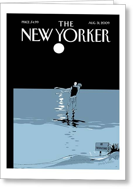 New Yorker August 31st, 2009 Greeting Card