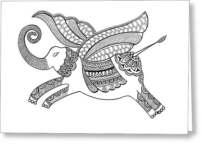 Untitled Greeting Card by Neeti Goswami