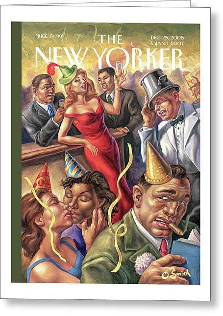 New Yorker December 25th, 2006 Greeting Card