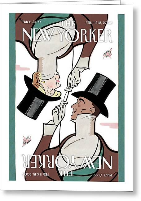 New Yorker February 11th, 2008 Greeting Card