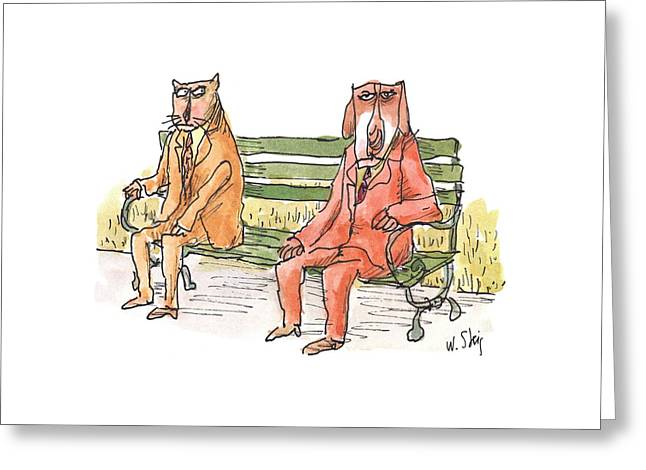 New Yorker May 21st, 2001 Greeting Card by William Steig