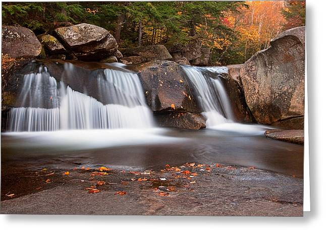 Upper Screw Auger Falls Greeting Card