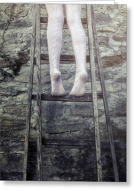Upwards Greeting Card by Joana Kruse