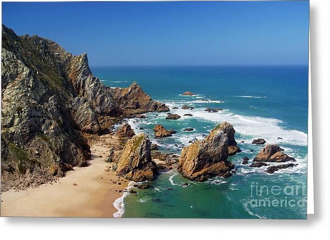 Ursa Beach Greeting Card