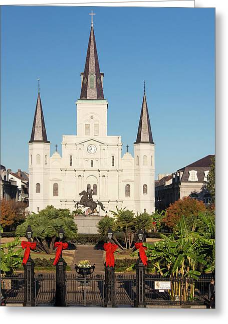 Us, La, New Orleans Greeting Card