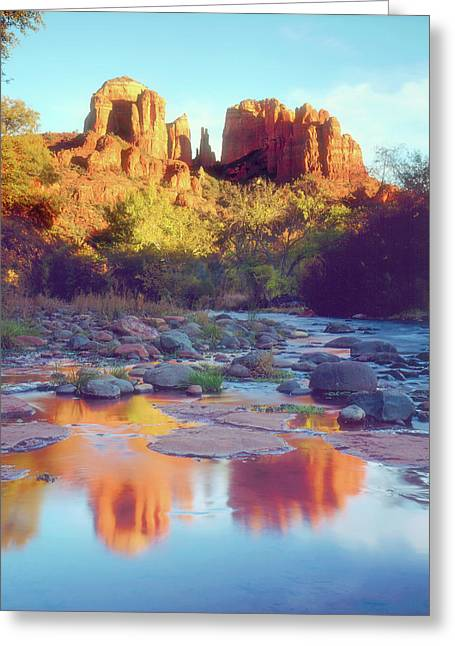 Usa, Arizona, Sedona Greeting Card