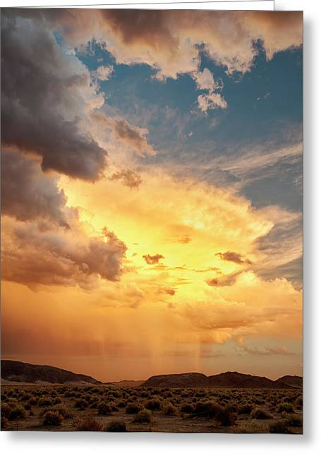 Usa, California, Mojave National Greeting Card