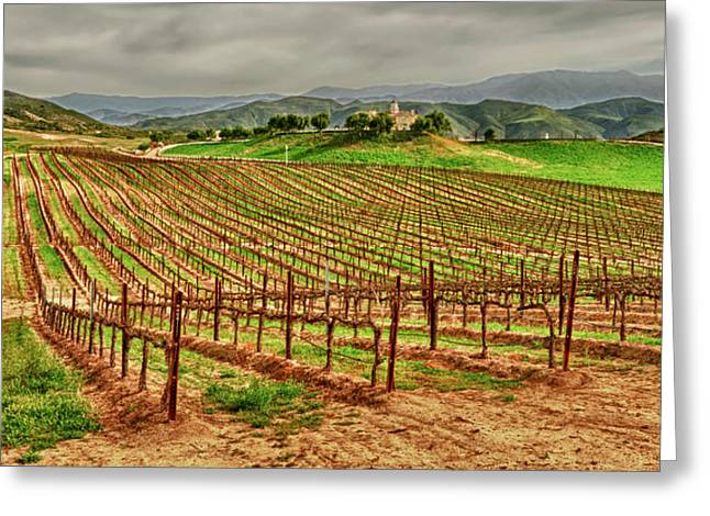 Usa, California, Temecula Greeting Card by Richard Duval