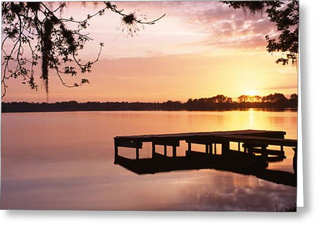 Usa, Florida, Orlando, Koa Campground Greeting Card by Panoramic Images
