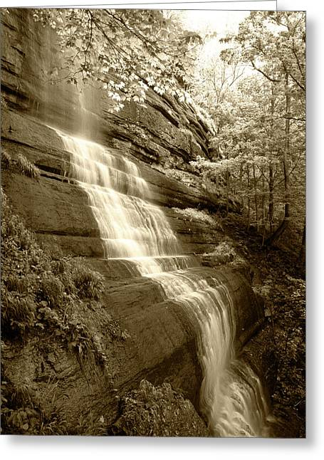 Usa, Kentucky, Jessamine County, View Greeting Card by Adam Jones