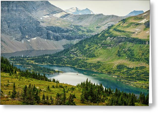 Usa, Montana, Glacier National Park Greeting Card by Rona Schwarz