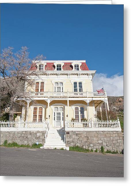Usa, Nevada Savage Mansion (c 1861 Greeting Card