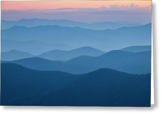 Usa, North Carolina, Great Smoky Greeting Card