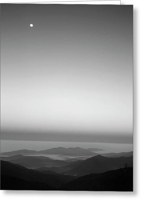 Usa, Tennessee, Cherohala Skyway, Full Greeting Card by Rob Tilley