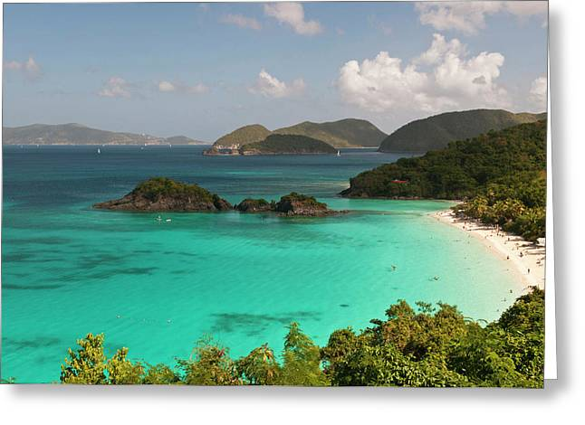Usa, Usvi, St John Greeting Card by Trish Drury
