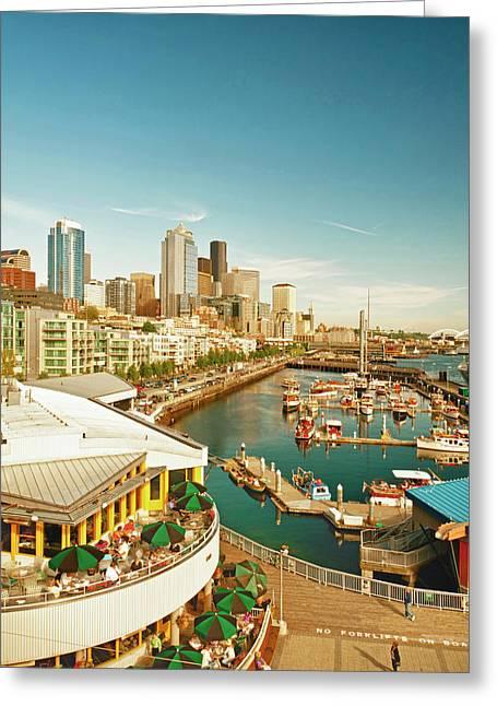 Usa, Washington, Seattle Greeting Card