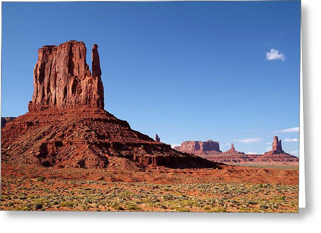 Utah Arizona Border, Navajo Nation Greeting Card