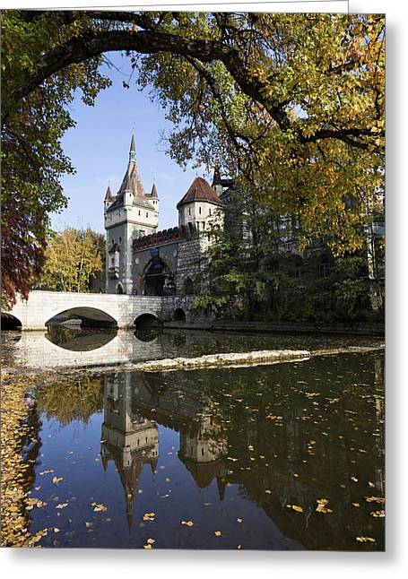 Vajdahunyad Castle In Budapest Greeting Card by Martin Zwick