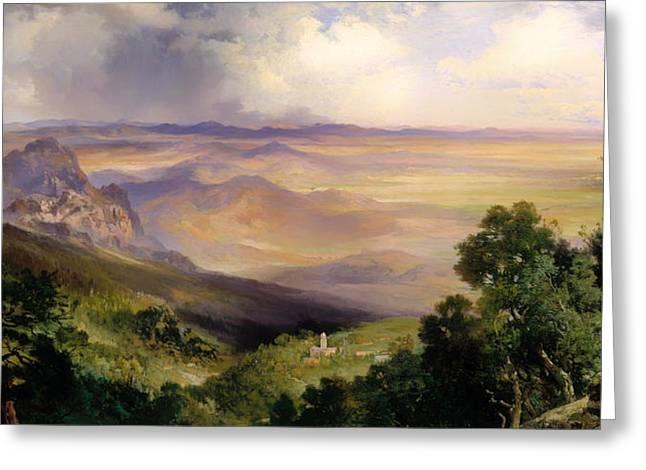 Valley Of Cuernavaca  Greeting Card by Mountain Dreams