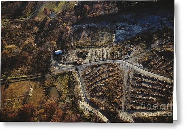 Valley Of The Drums, Bullitt County Greeting Card
