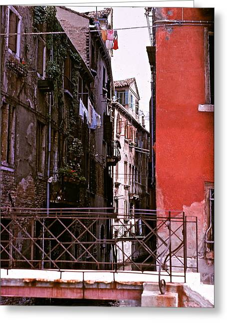 Greeting Card featuring the photograph Venice by Ira Shander