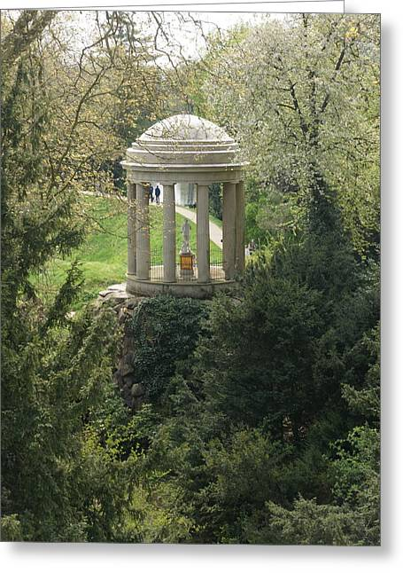 Venus Temple Greeting Card by Olaf Christian