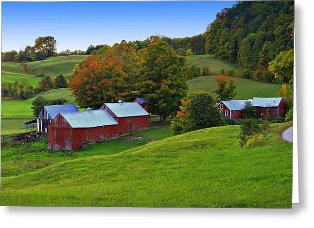 Vermont's Jenne Farm Greeting Card