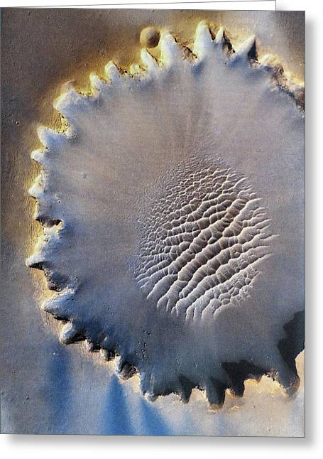 Victoria Crater Greeting Card by Patricia Januszkiewicz