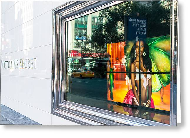 Victoria's Secret Store In New York Greeting Card