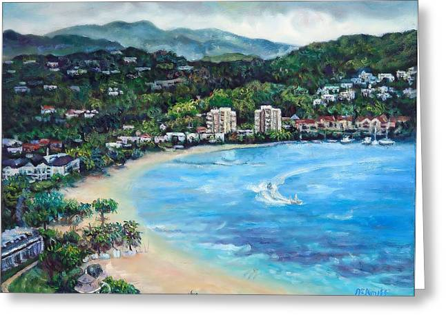 View From Jamaica Grand 2 Greeting Card