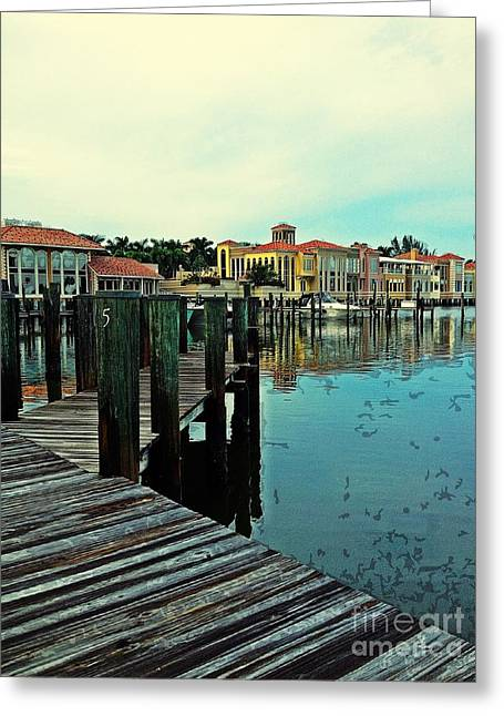 View From The Boardwalk  Greeting Card