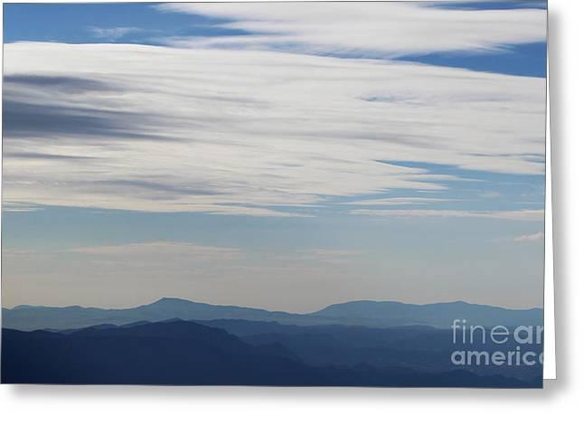 Views From Mt. Elbert Greeting Card