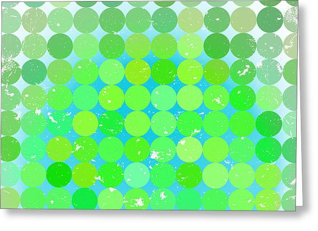 Vintage  Circles Pattern.geometric Greeting Card