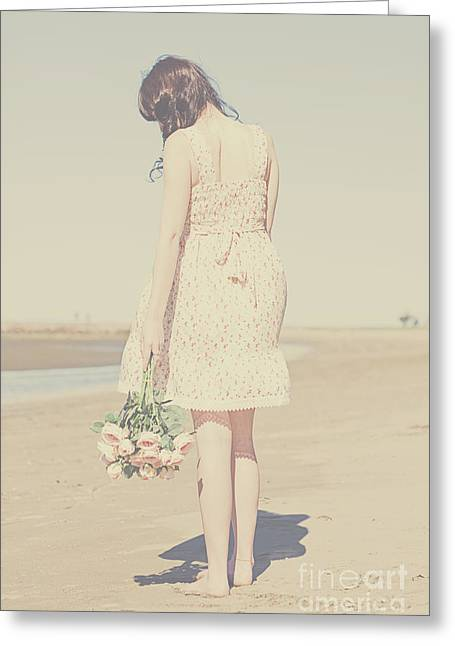 Vintage Heartache Greeting Card by Jorgo Photography - Wall Art Gallery