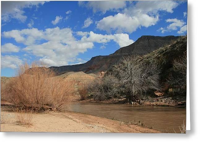 Virgin River Arizona Greeting Card
