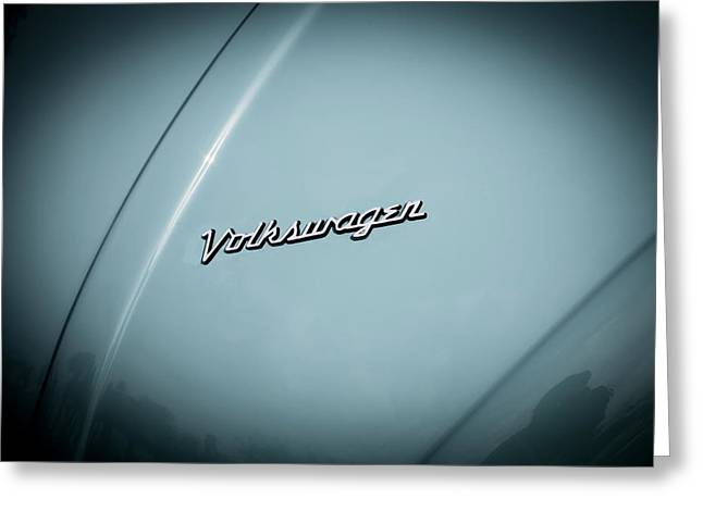 Volkswagen Beetle Emblem Greeting Card