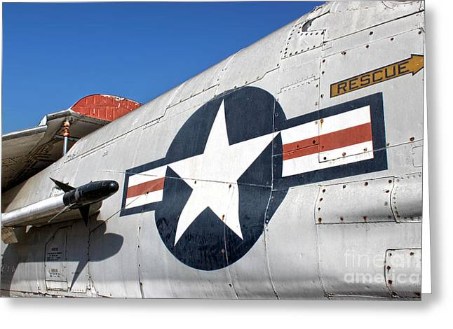 Vought Crusader 8-u1 Greeting Card by Gregory Dyer